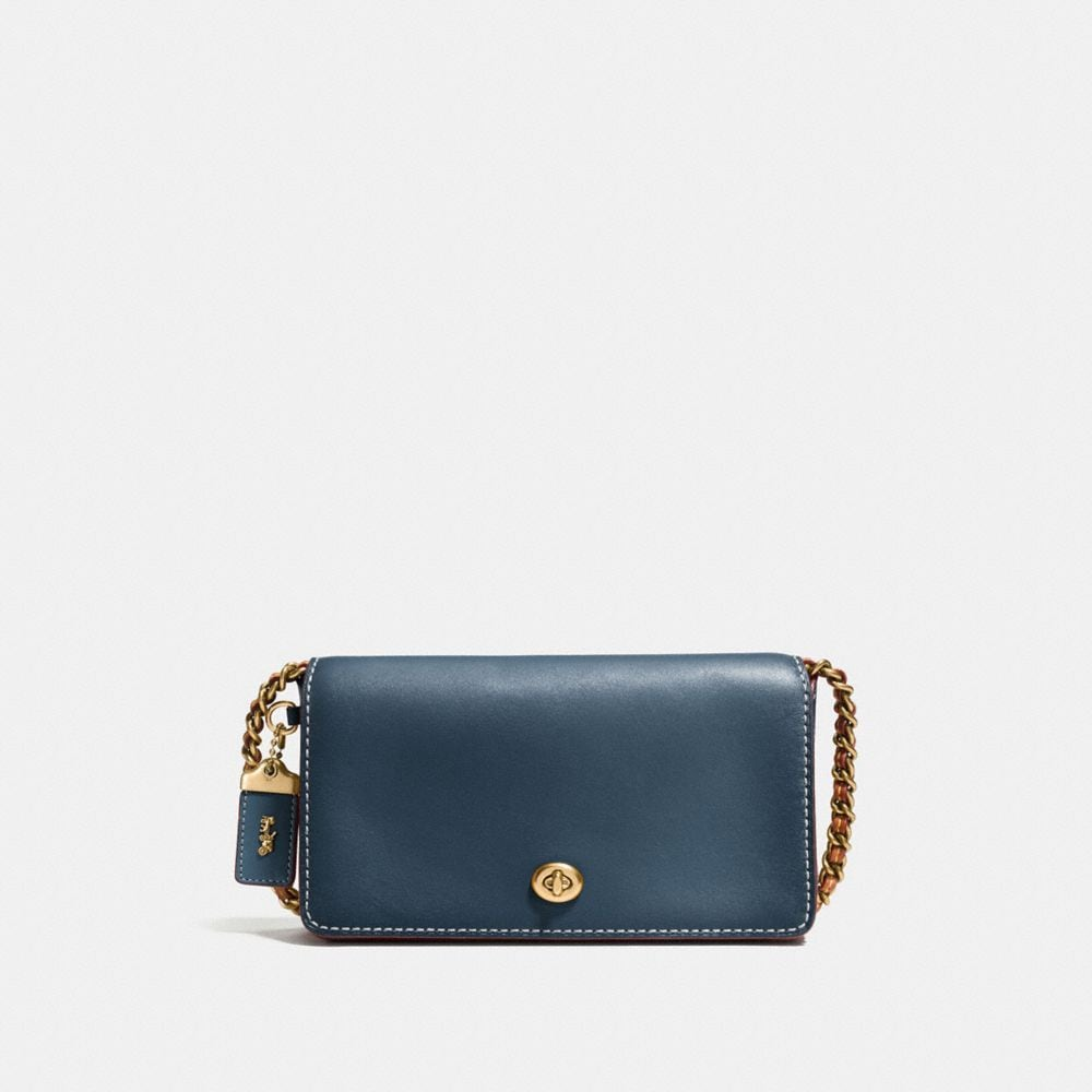 Coach Dinky in Burnished Glovetanned Leather