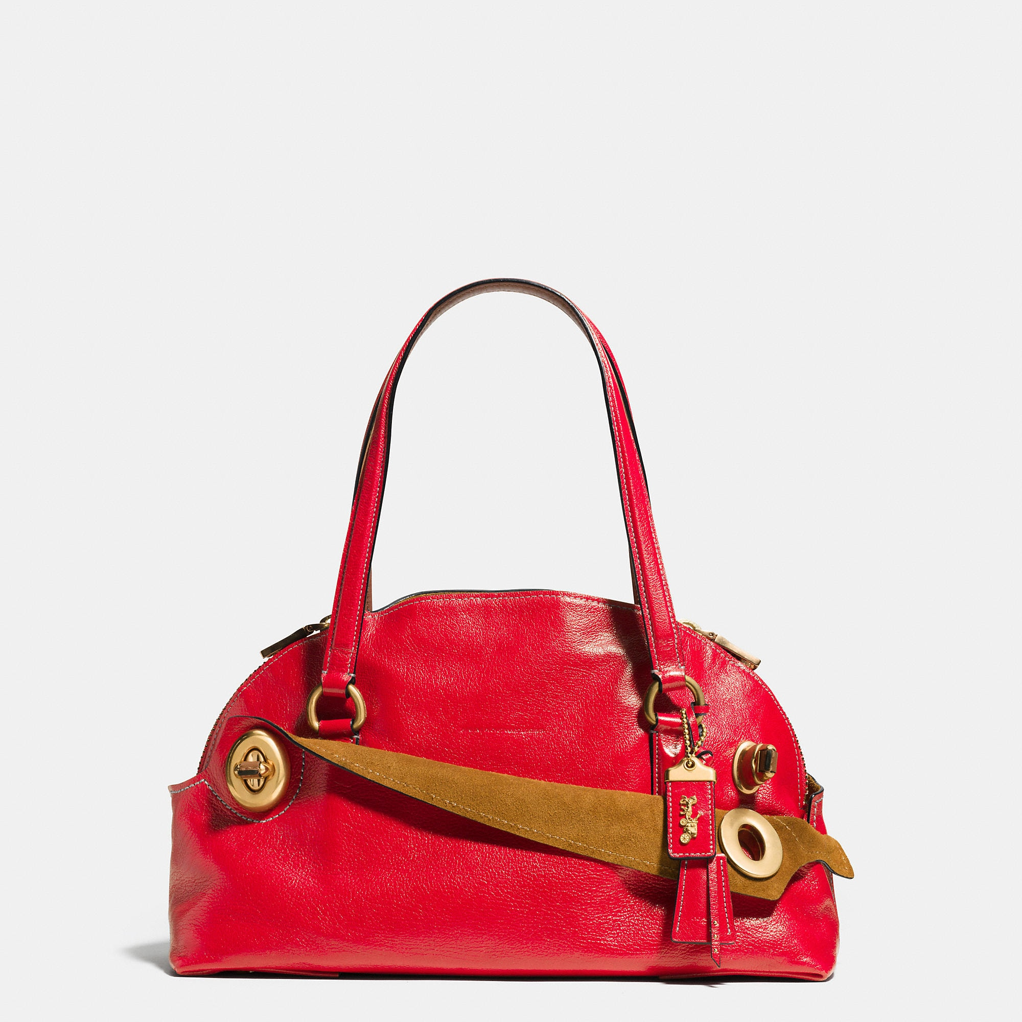 Coach 1941 Outlaw Satchel In Grain Leather