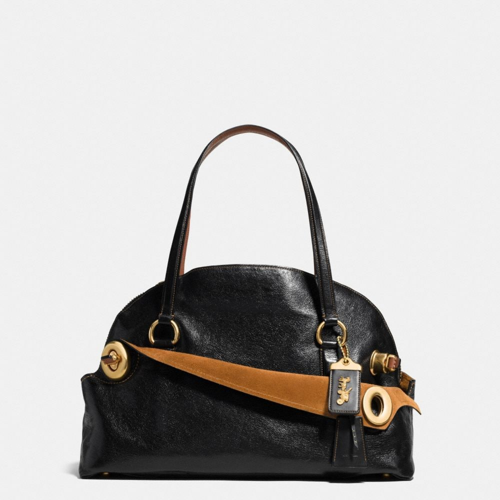 OUTLAW SATCHEL 42 IN GRAIN LEATHER