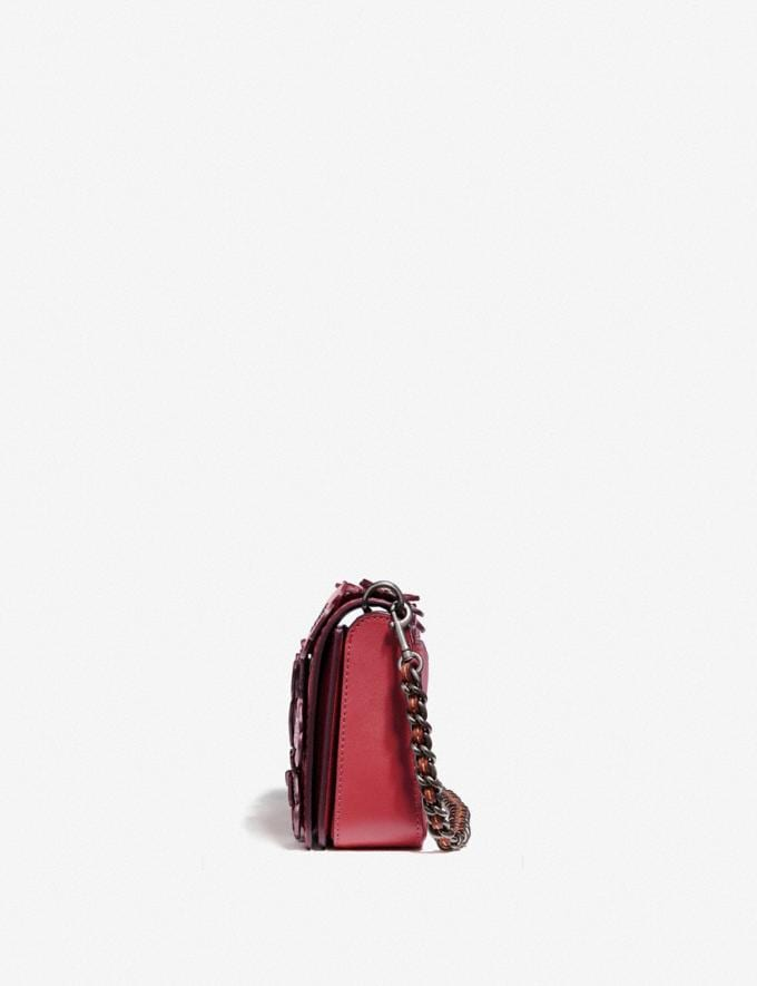 Coach Dinky With Tea Rose Brass/Chalk Women Bags Crossbody Bags Alternate View 1