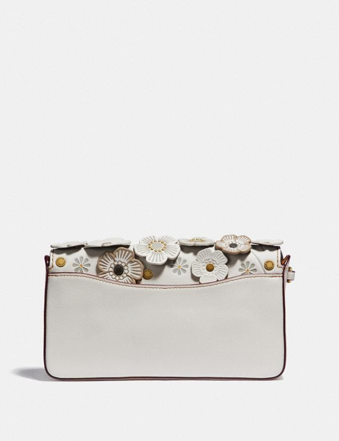 Coach Dinky With Tea Rose Brass/Chalk Bags Alternate View 2