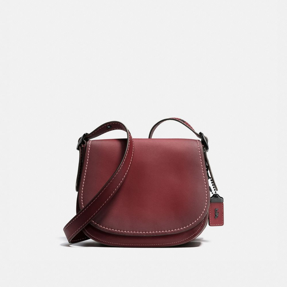Saddle Bag 23 in Burnished Glovetanned Leather