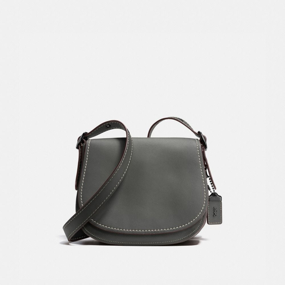 Coach Saddle Bag 23 In Burnished Glovetanned Leather Coach