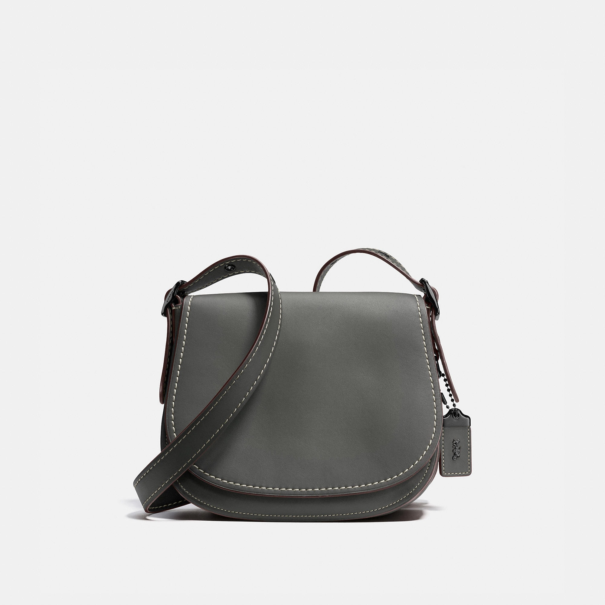 Coach Saddle Bag 23 In Burnished Glovetanned Leather