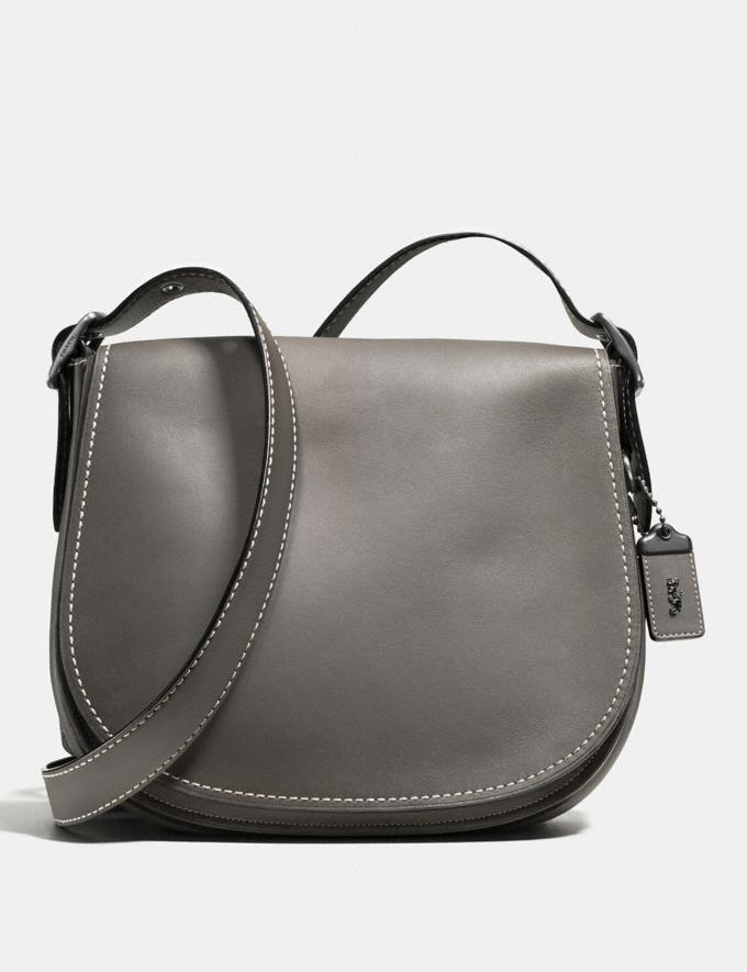 Coach Saddle Bp/Heather Grey New Featured Online-Only