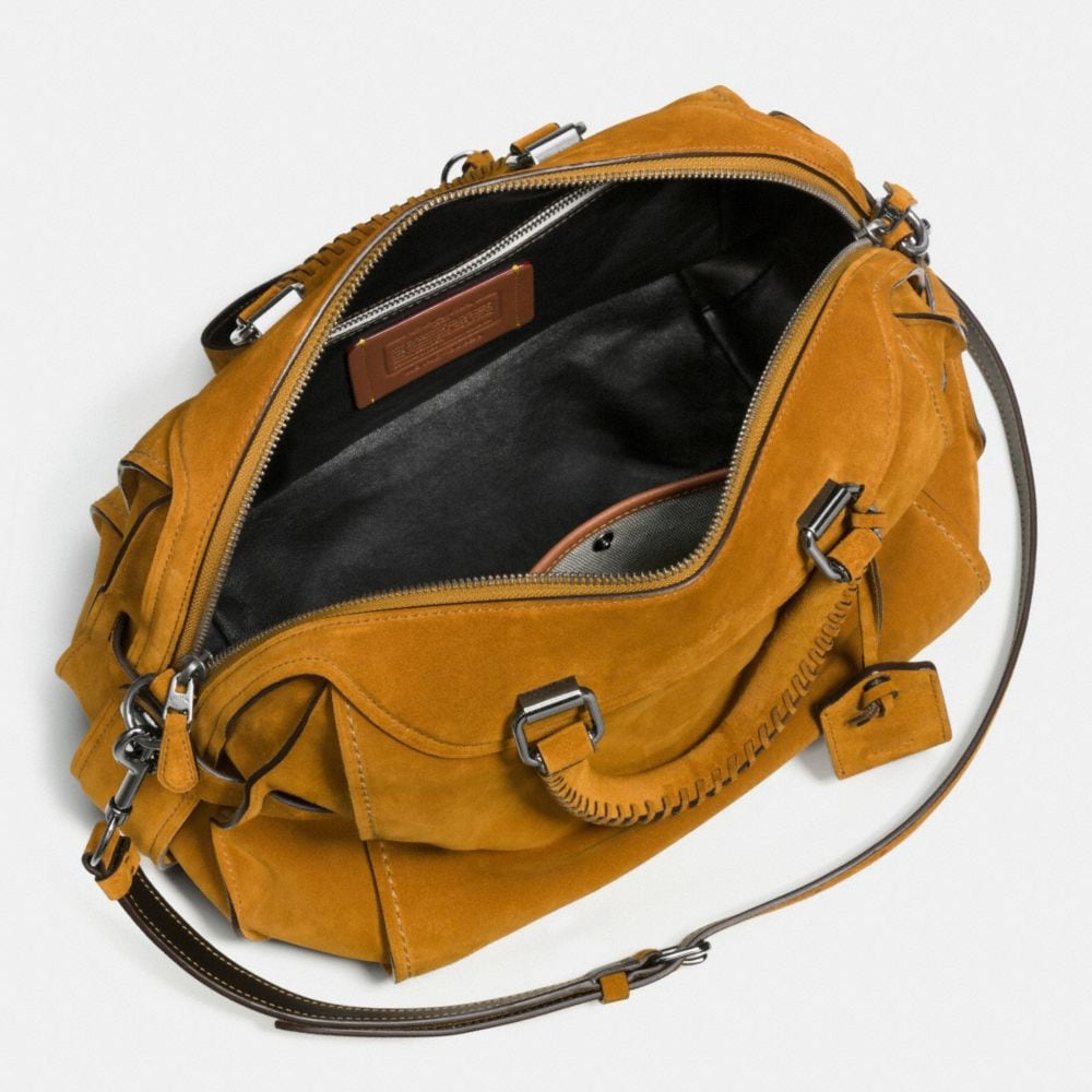 Ace Satchel 28 in Suede - Alternate View A3