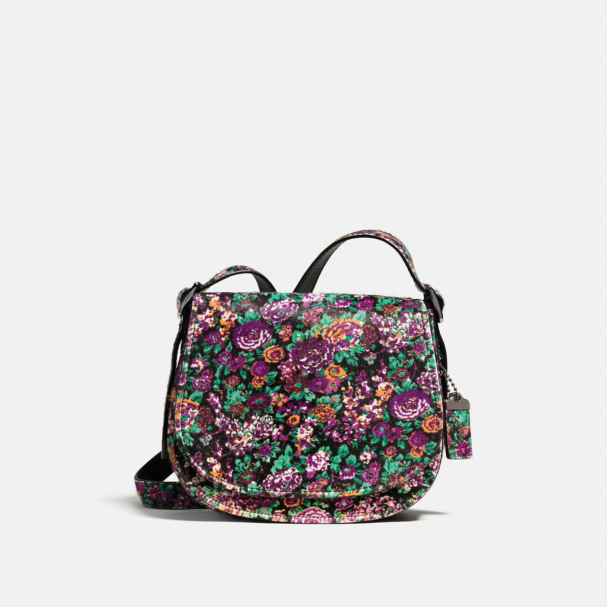 Coach 1941 Saddle Bag 23 In Printed Haircalf