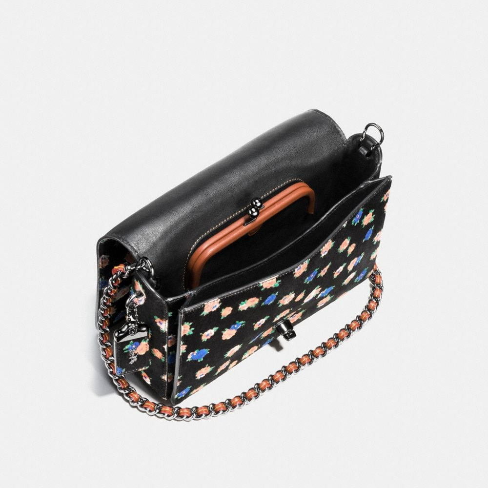 Dinky Crossbody 24 in Printed Haircalf - Autres affichages A3