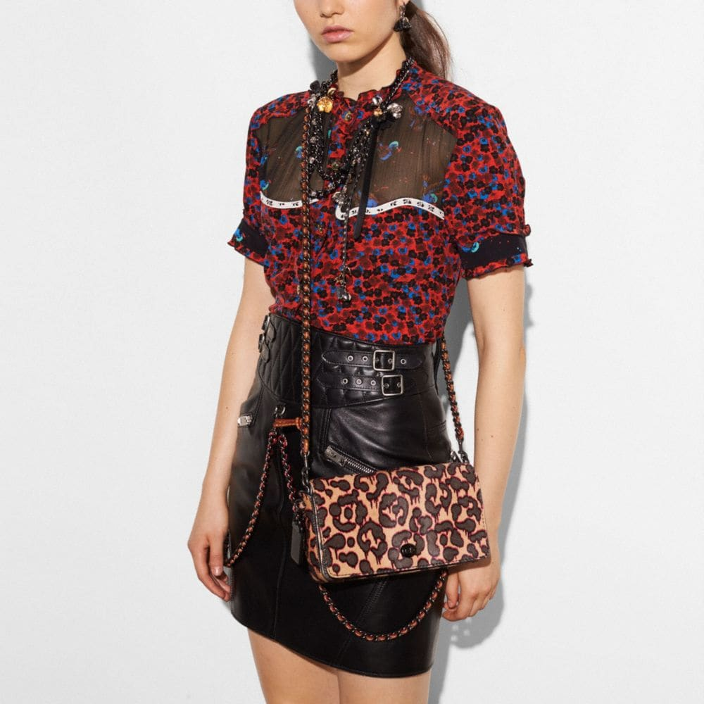 DINKY CROSSBODY IN PRINTED HAIRCALF - Alternate View A4