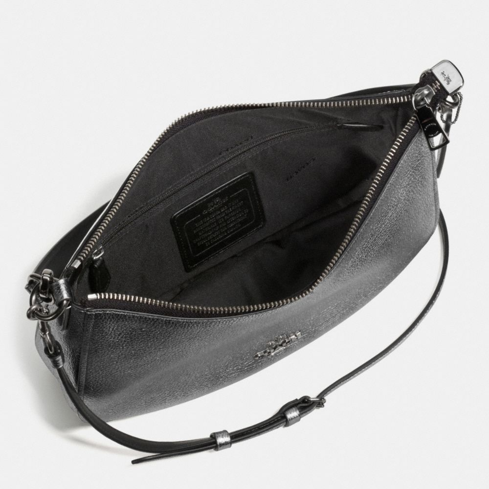 CHELSEA CROSSBODY IN POLISHED PEBBLE LEATHER - Alternate View A1