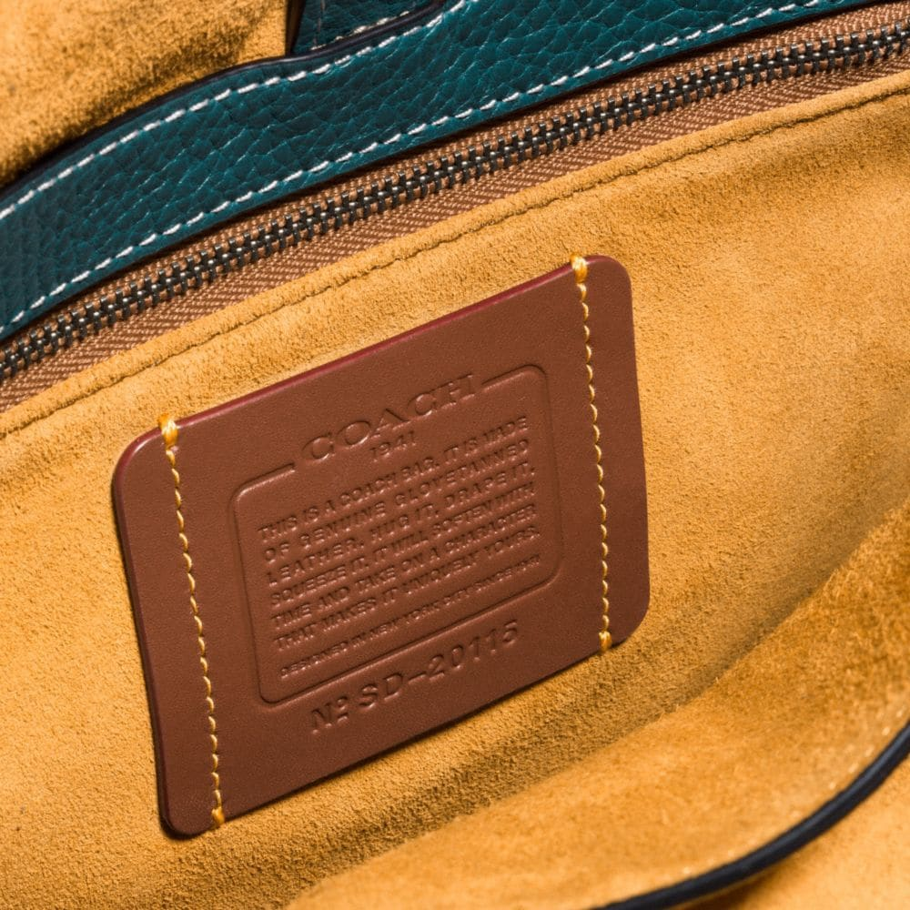 Coach Saddle With Whiplash Detail Alternate View 1