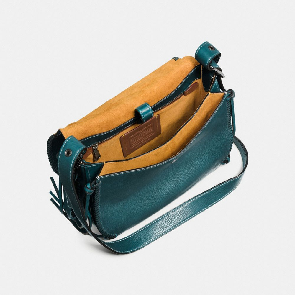WHIPLASH SADDLE BAG IN LEATHER - Alternate View A4