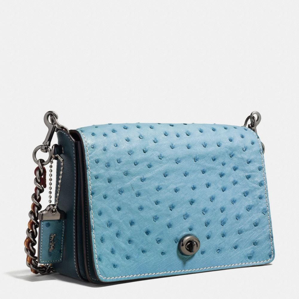 DINKY CROSSBODY 24 IN OSTRICH - Autres affichages A2