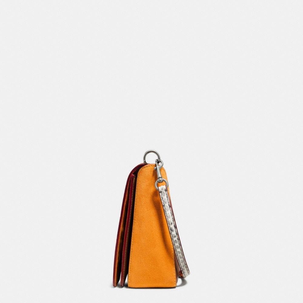 Dinky Crossbody 24 in Colorblock Python - Alternate View A1