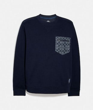 SIGNATURE ESSENTIAL SWEATSHIRT