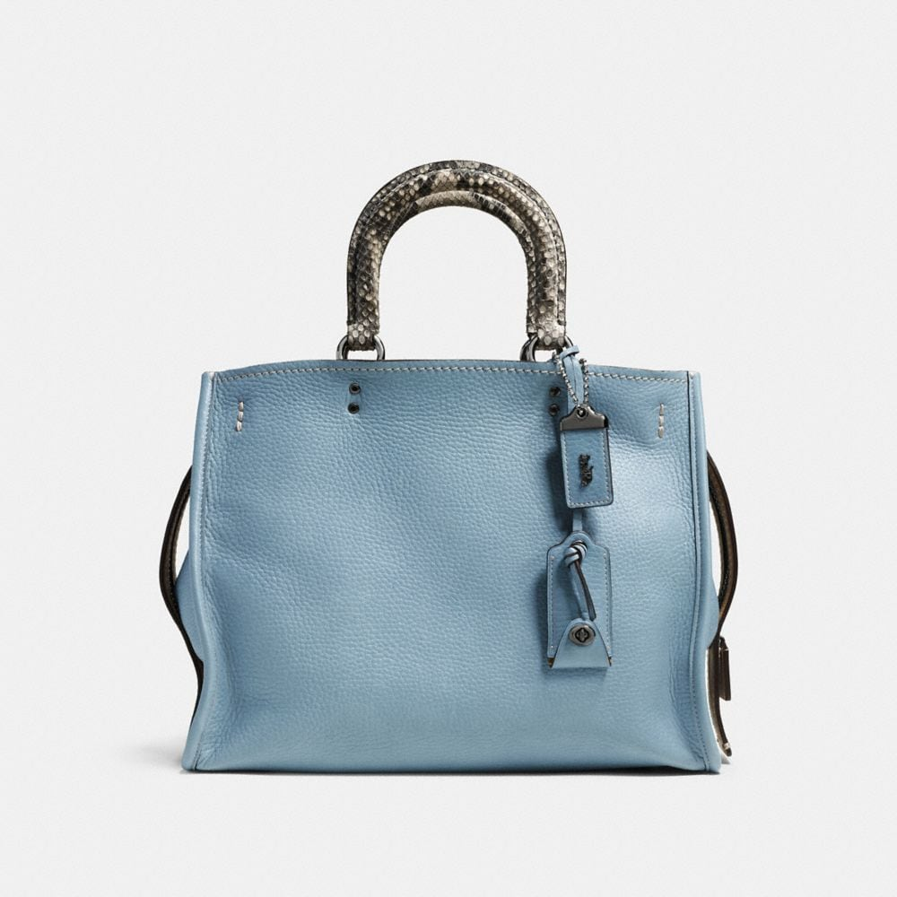 Rogue Bag in Colorblock Python