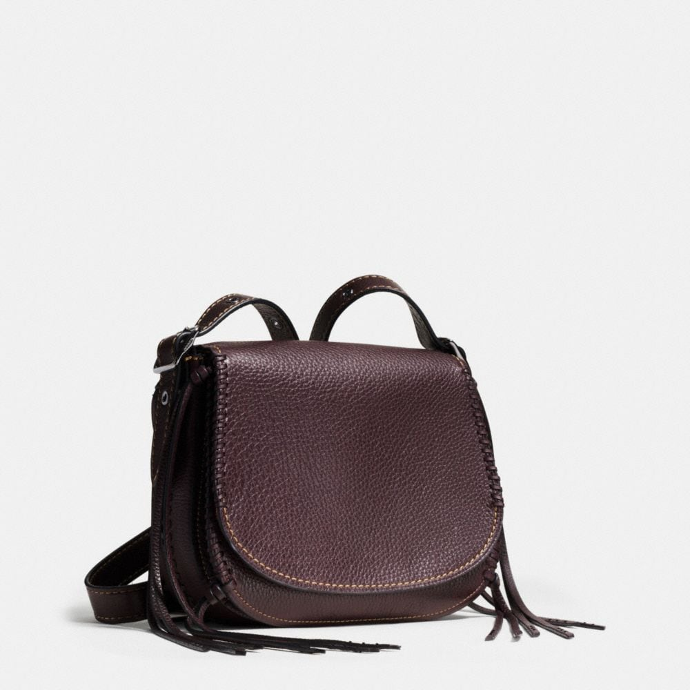 Saddle Bag 23 in Whiplash Leather - Alternate View A3