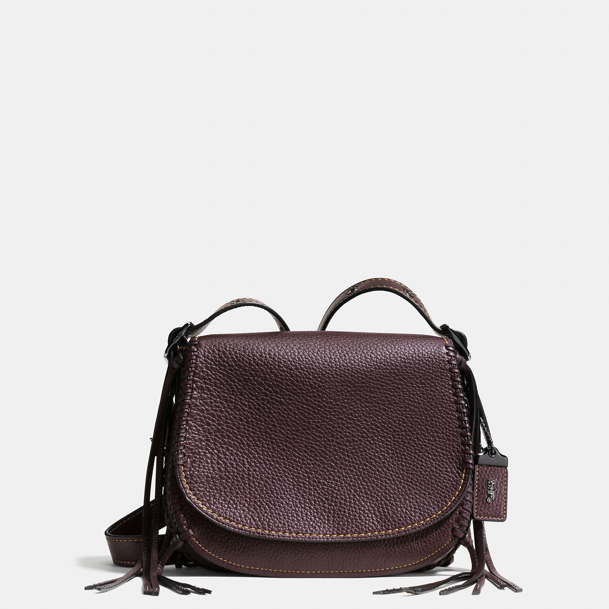 Coach 1941 Saddle Bag 23 In Whiplash Leather