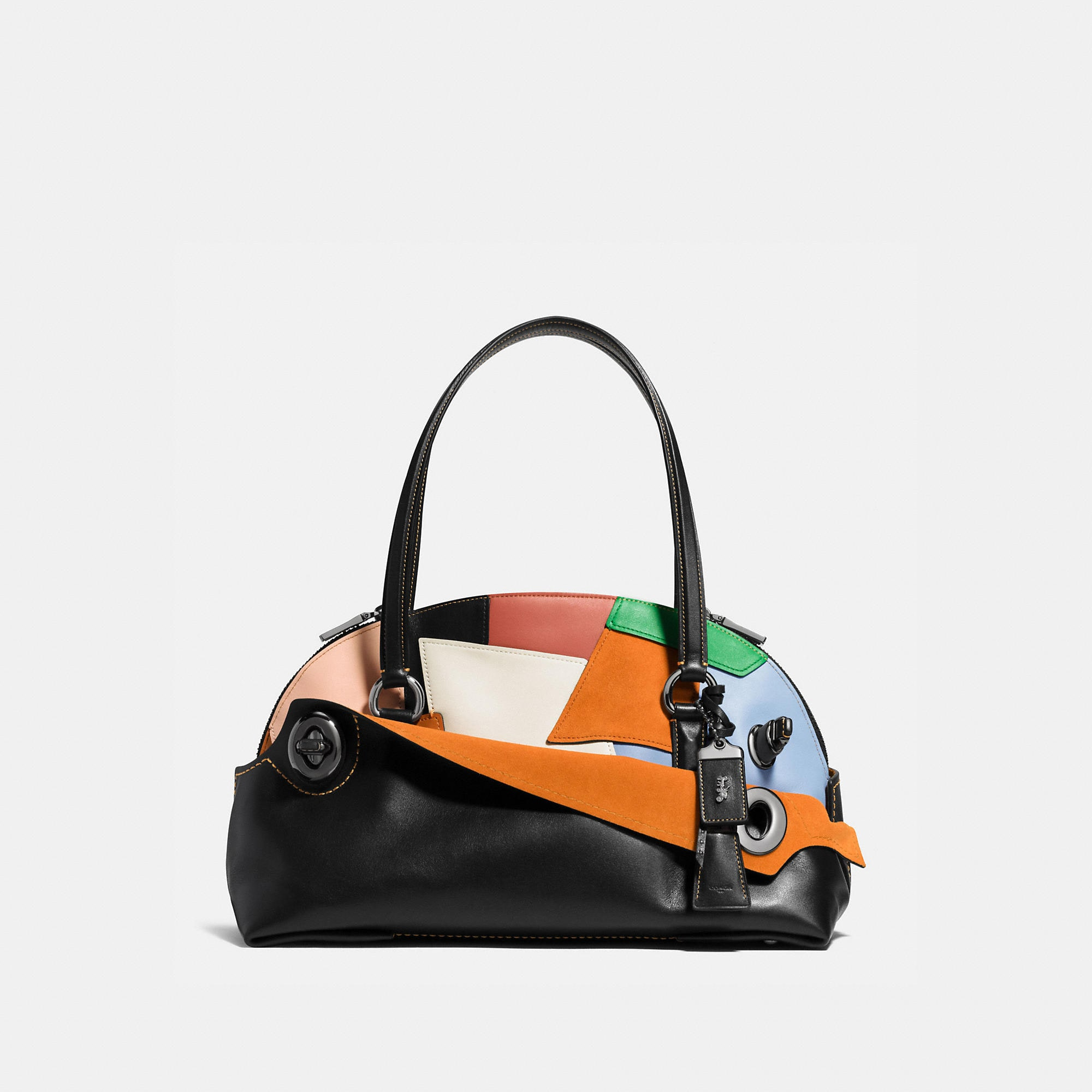 Coach 1941 Outlaw Satchel In Patchwork Leather