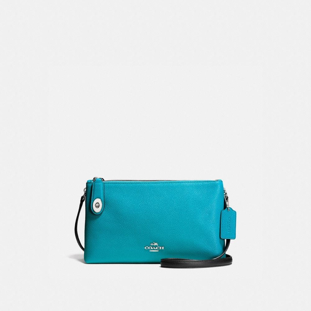 Coach Crosby Crossbody in Colorblock Leather