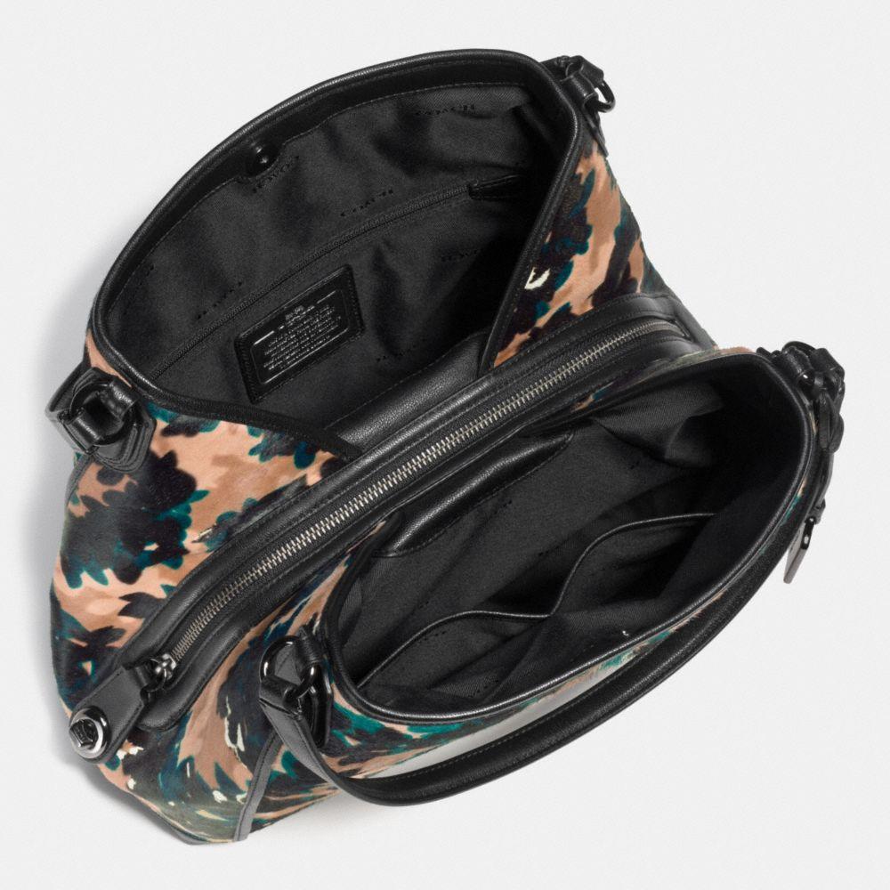 Edie Shoulder Bag 31 in Printed Haircalf - Alternate View A3