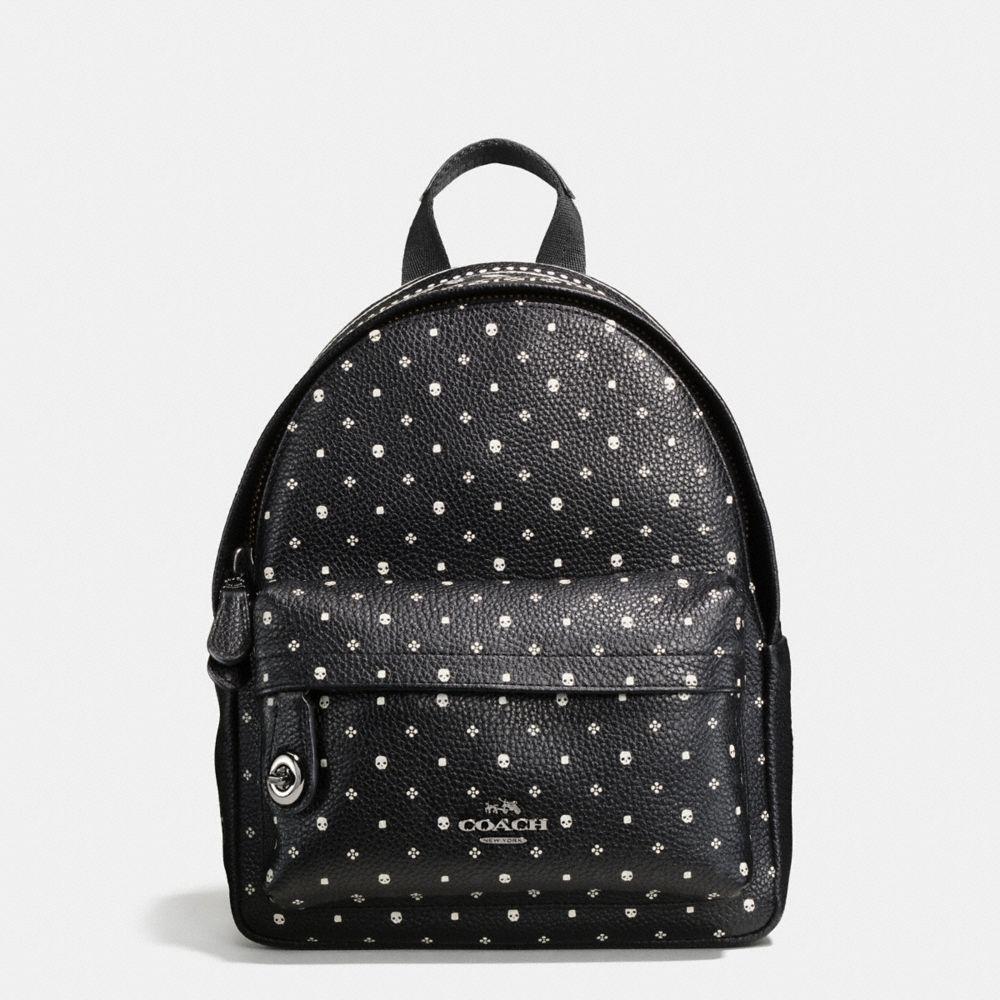 Mini Campus Backpack in Bandana Print Leather