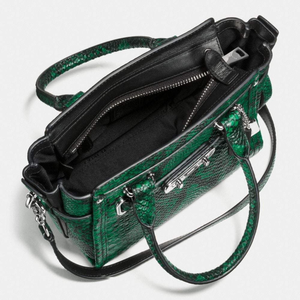 Coach Swagger 21 in Snake-Embossed Leather - Autres affichages A3