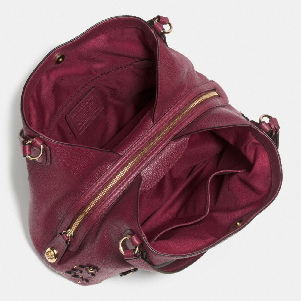 Willow Floral Edie Shoulder Bag 31 in Pebble Leather - Alternate View A3