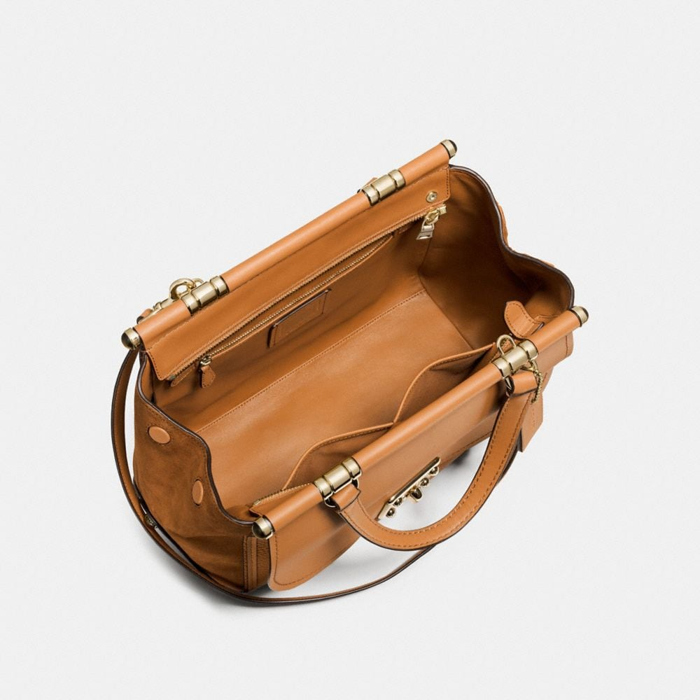 Drifter Carryall in Mixed Leather - Alternate View A2