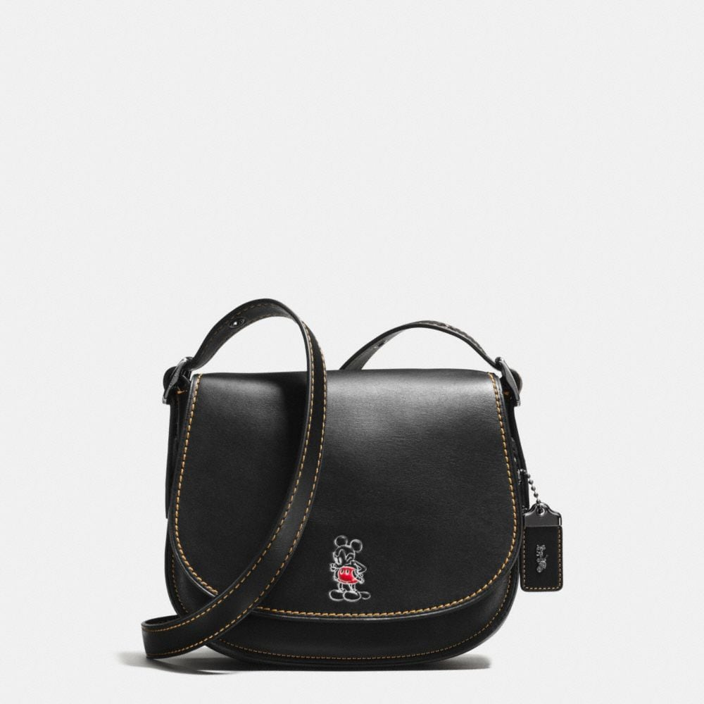 Mickey Saddle Bag 23 in Glovetanned Leather