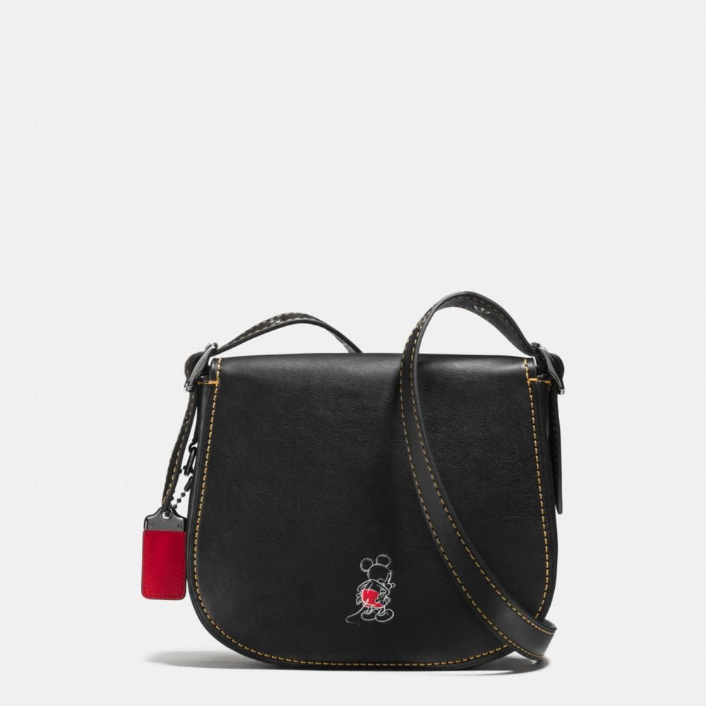 Mickey Saddle Bag 23 in Glovetanned Leather - Autres affichages A2