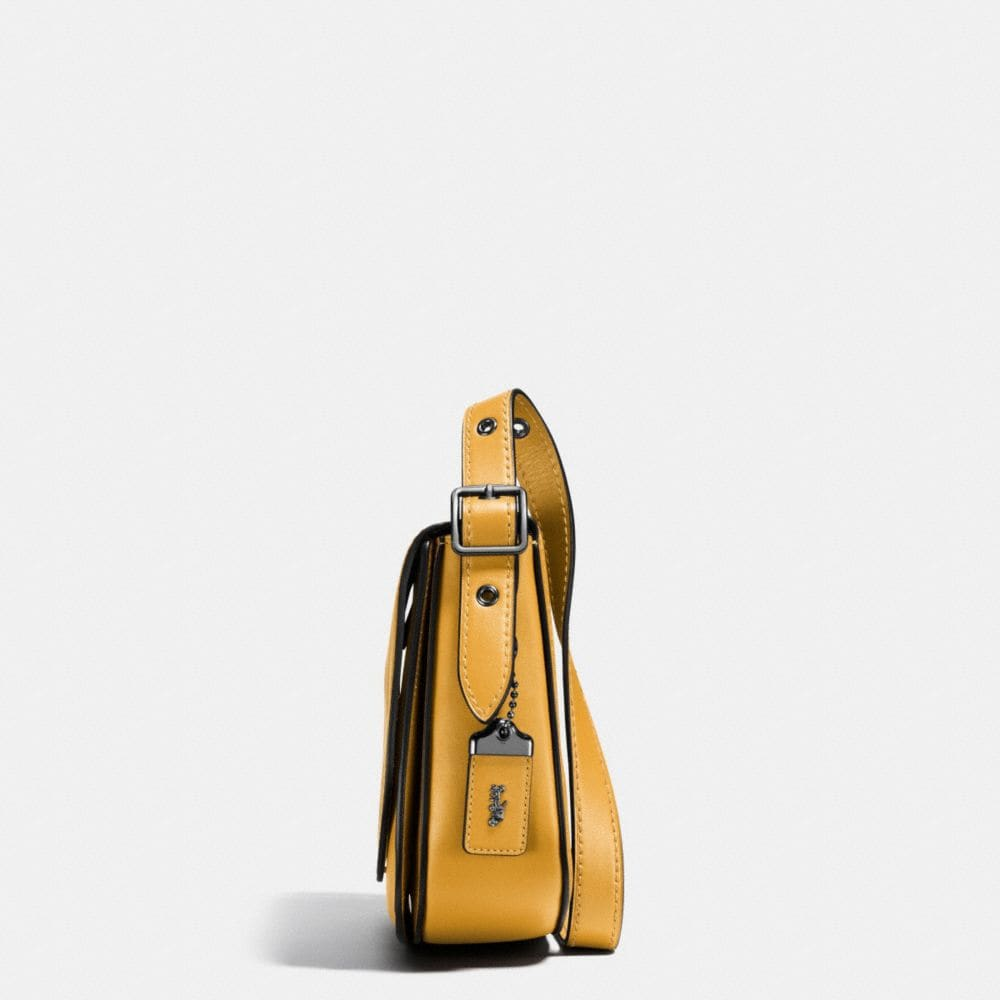 Coach Mickey Saddle Bag 23 in Glovetanned Leather Alternate View 2
