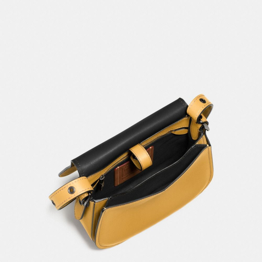 Coach Mickey Saddle Bag 23 in Glovetanned Leather Alternate View 3