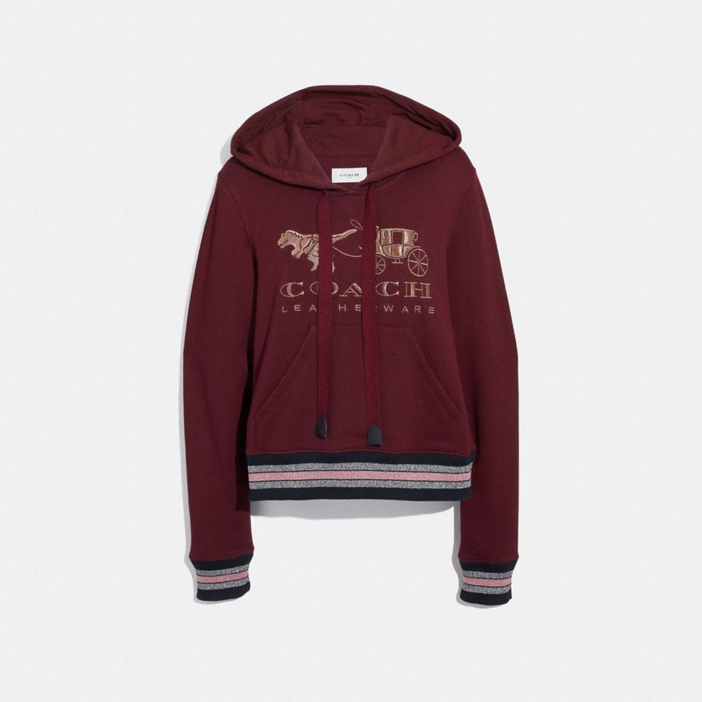 Coach Rexy and Carriage Hoodie