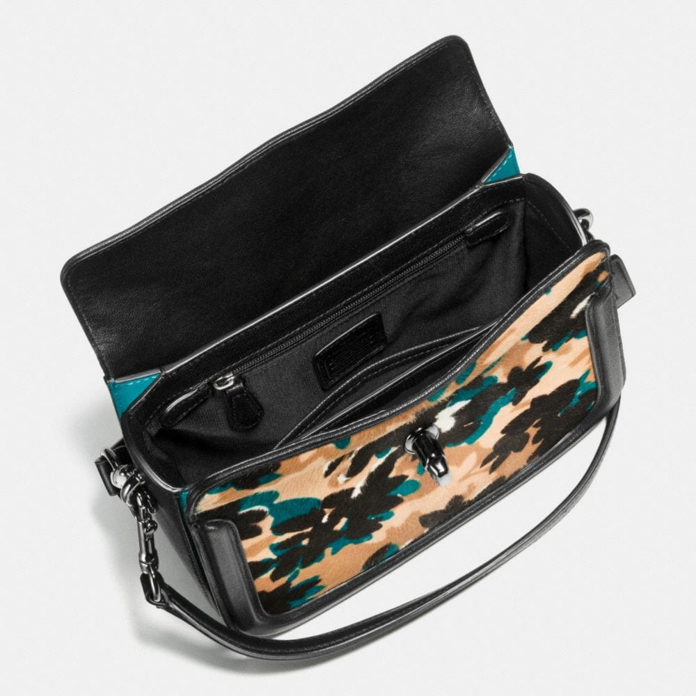 Page Crossbody in Printed Haircalf - Alternate View A1