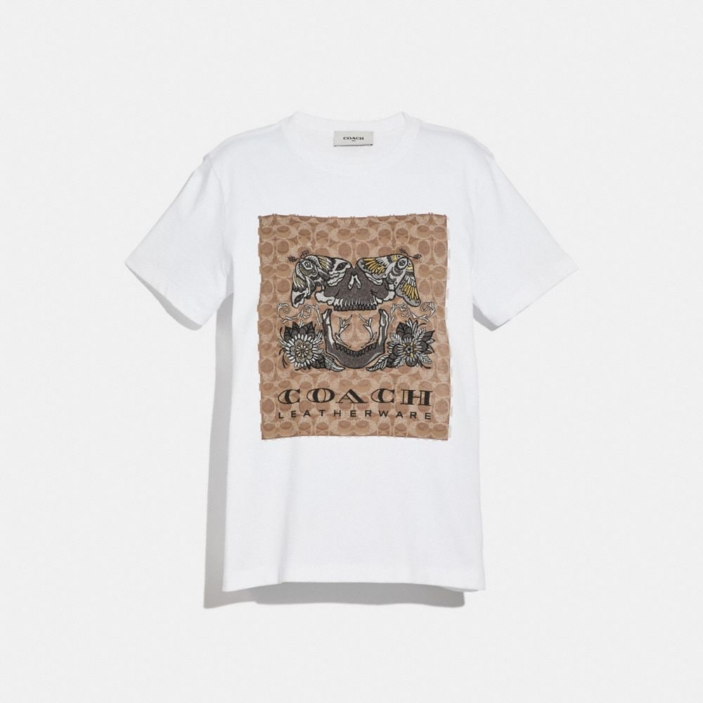 Coach Signature Tattoo T-Shirt