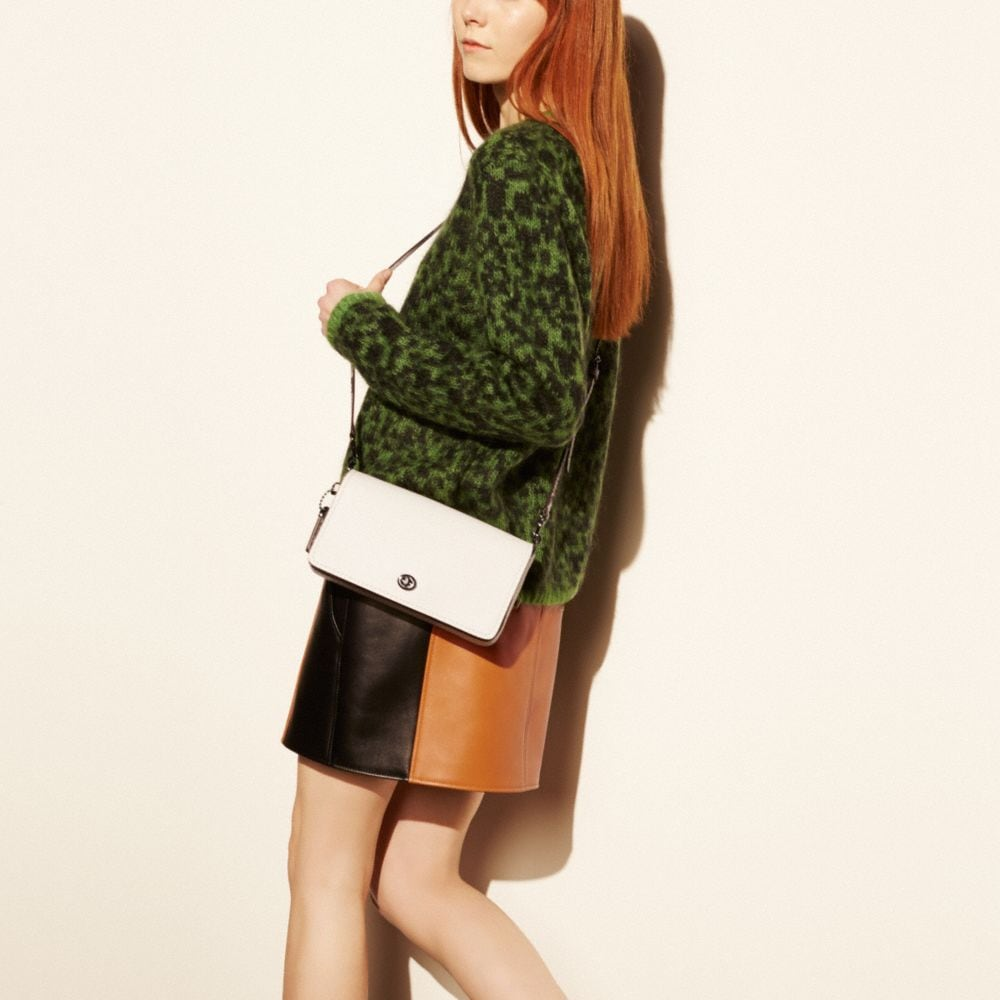 DINKY CROSSBODY IN COLORBLOCK PYTHON - Alternate View A4