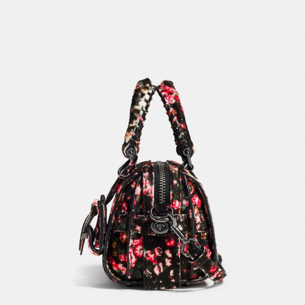 Ace Satchel 14 in Printed Haircalf - Alternate View A1