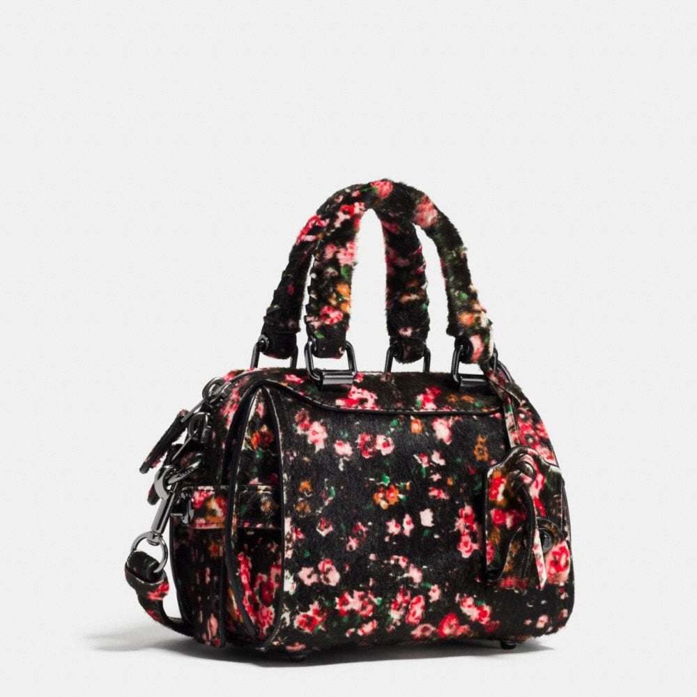 Ace Satchel 14 in Printed Haircalf - Alternate View A2