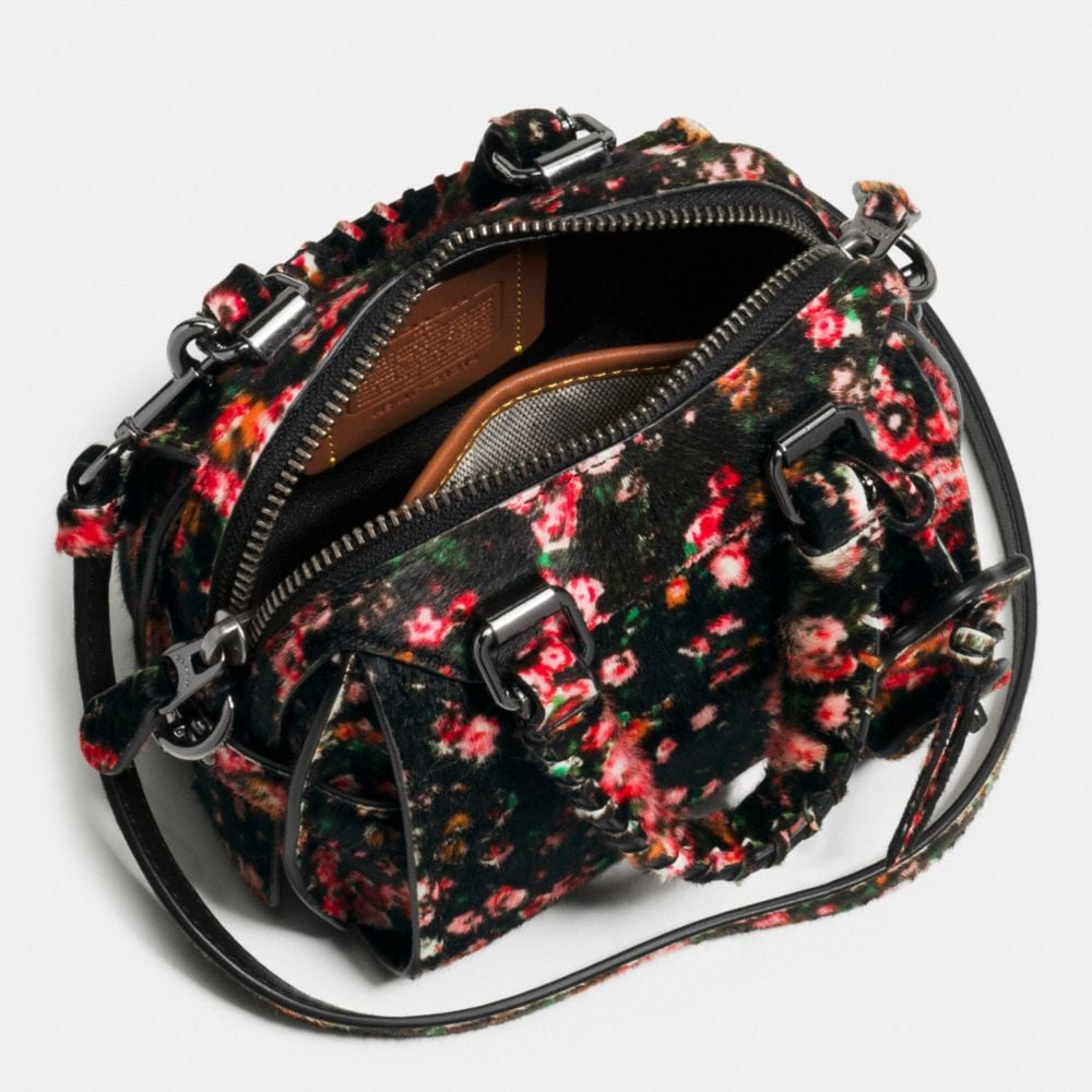Ace Satchel 14 in Printed Haircalf - Alternate View A3