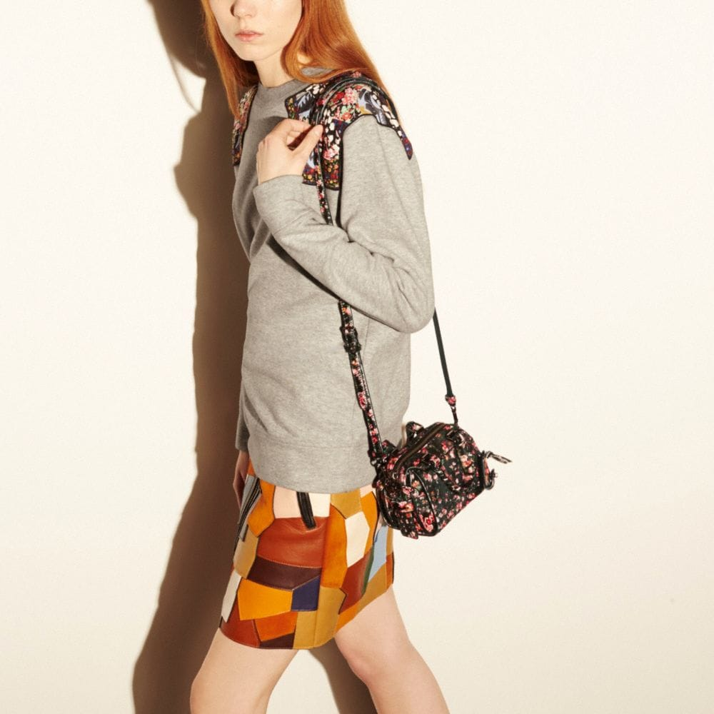Ace Satchel 14 in Printed Haircalf - Autres affichages A4