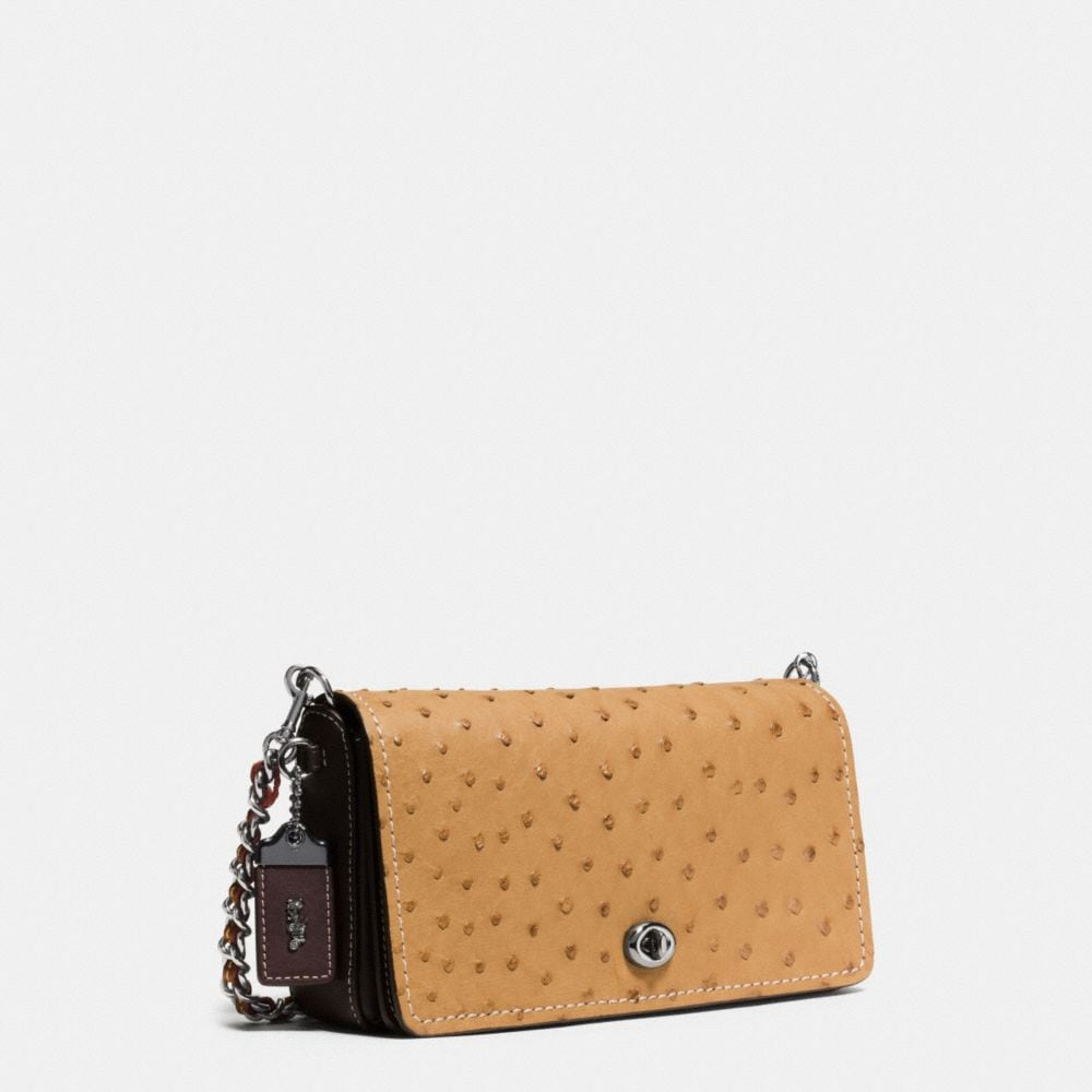 DINKY CROSSBODY IN OSTRICH - Autres affichages A2