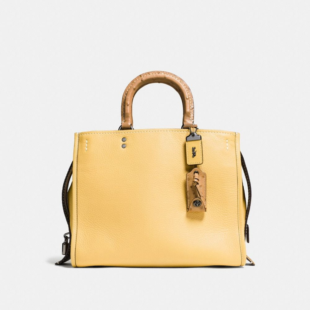 Rogue Bag in Colorblock Ostrich