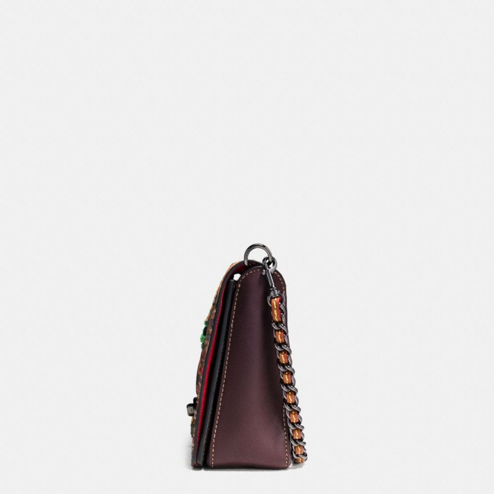 Dinky Crossbody 24 in Embellished Patchwork Leather - Autres affichages A1