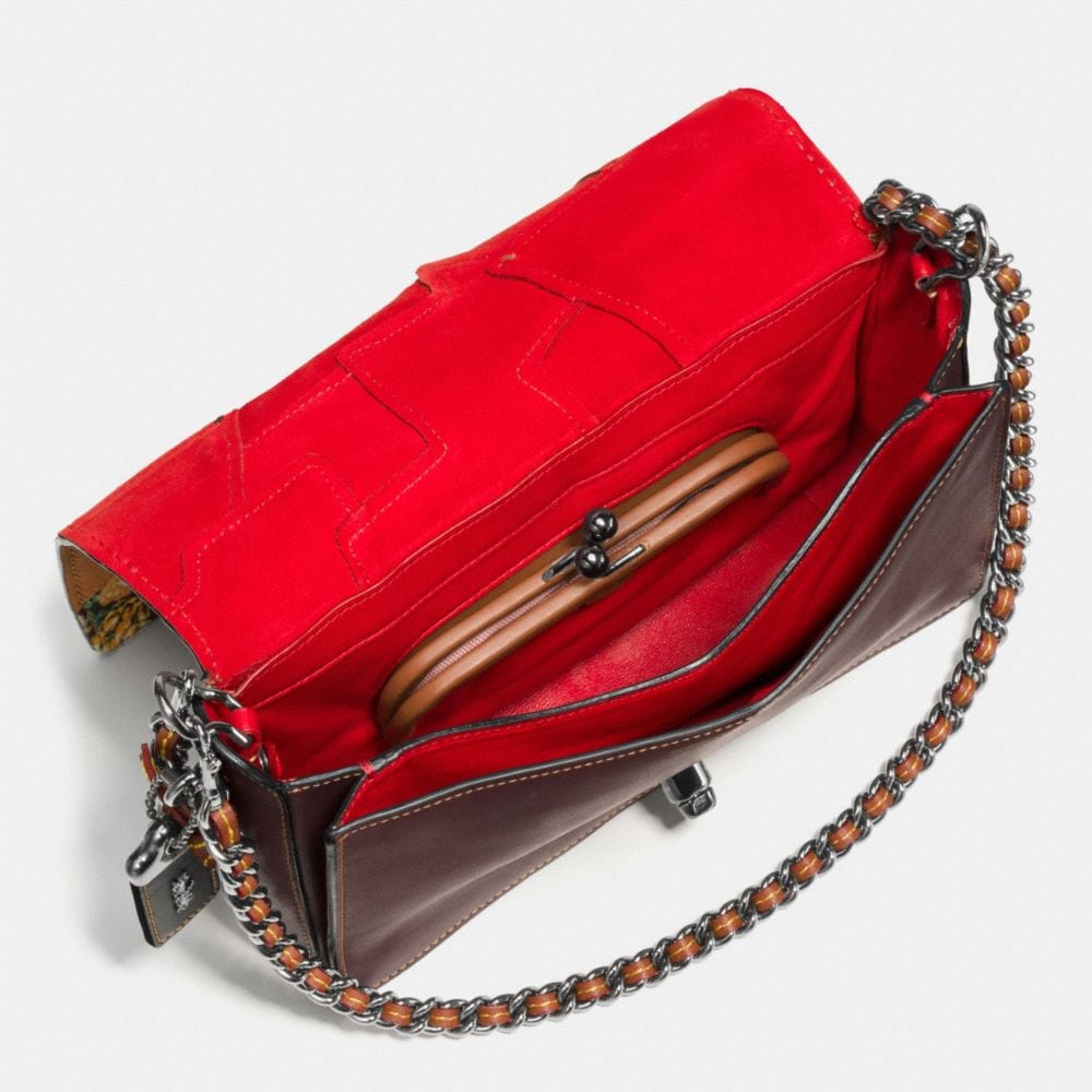 DINKY CROSSBODY 24 IN EMBELLISHED PATCHWORK LEATHER - Autres affichages A3