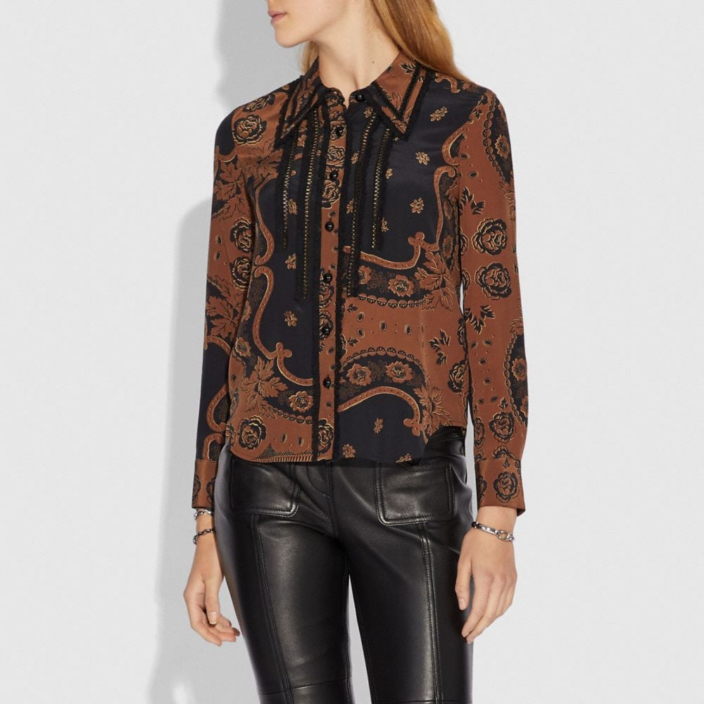 Coach Bandana Print Shirt Alternate View 1