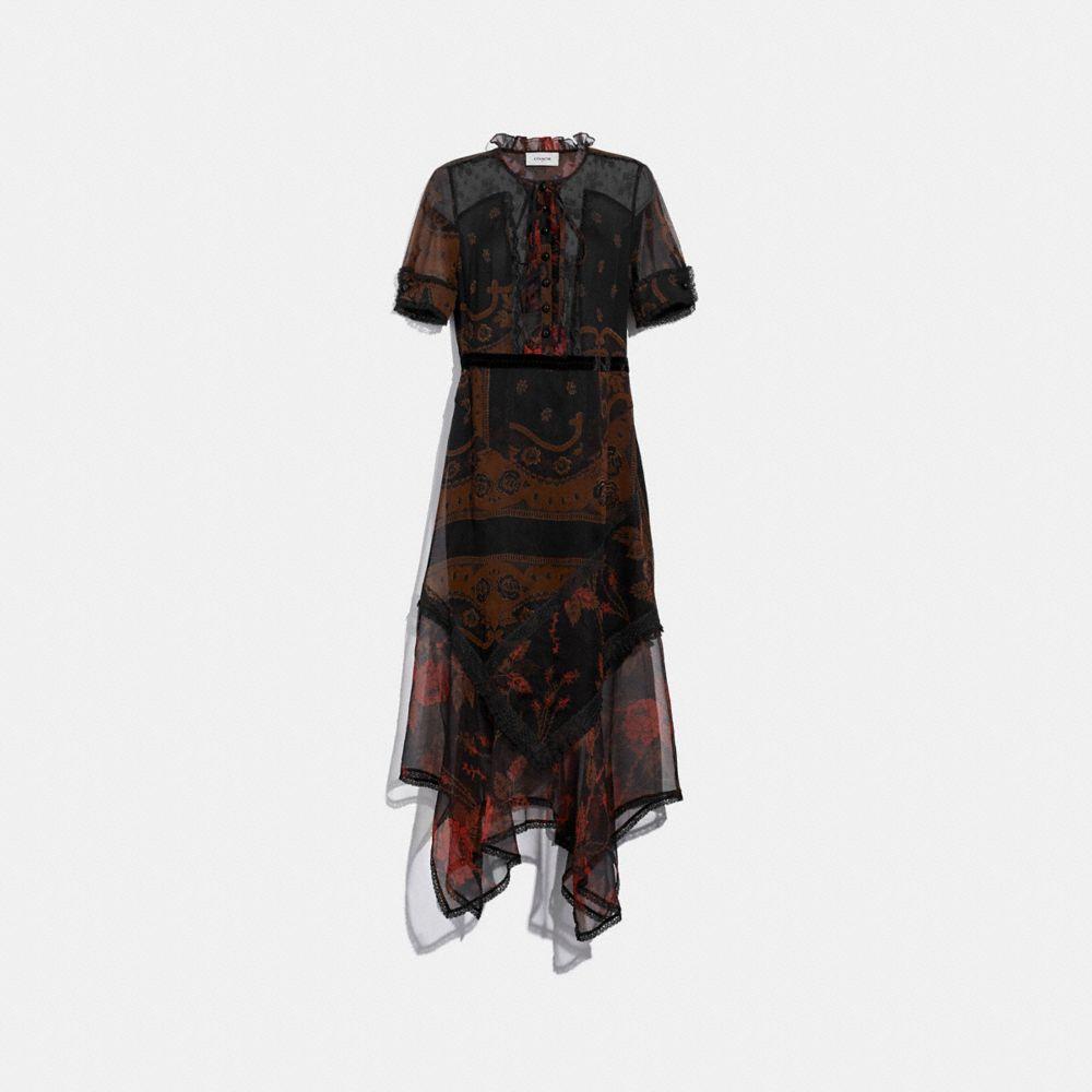 BANDANA PRINT DRESS