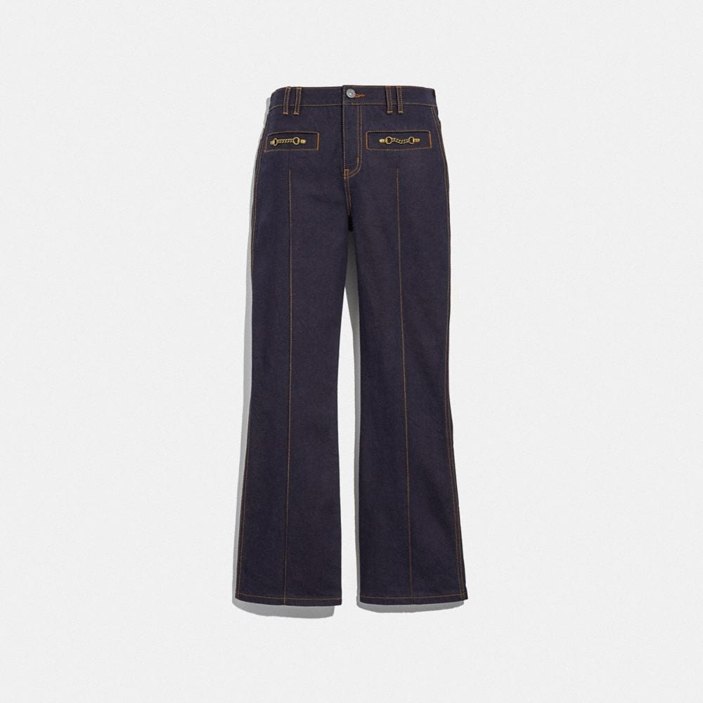 Coach Denim Pant