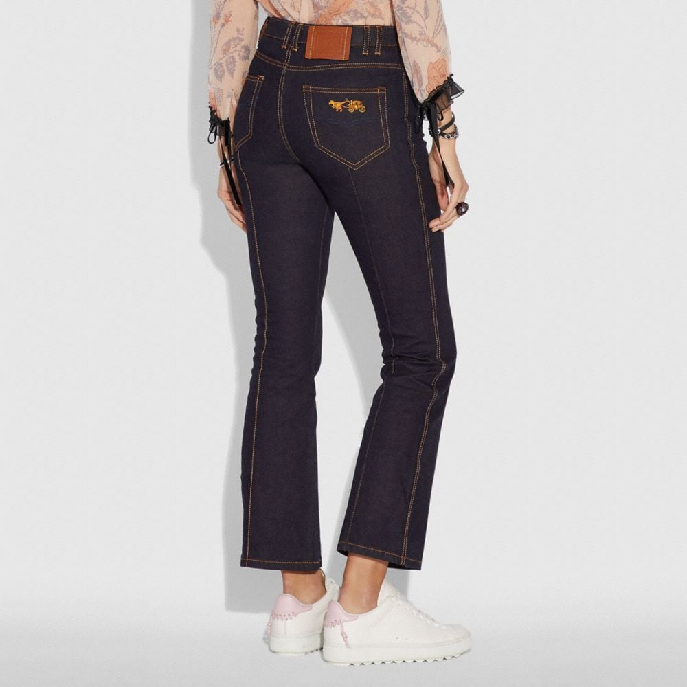 Coach Denim Pant Alternate View 2