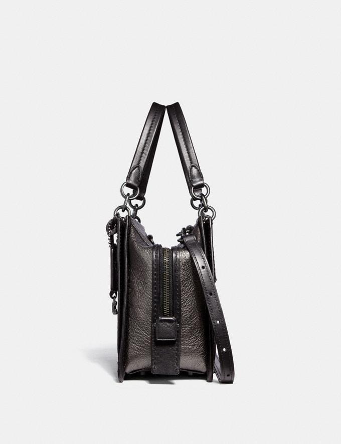 Coach Dreamer Metallic Graphite/Gunmetal Women Bags Satchels & Carryalls Alternate View 1